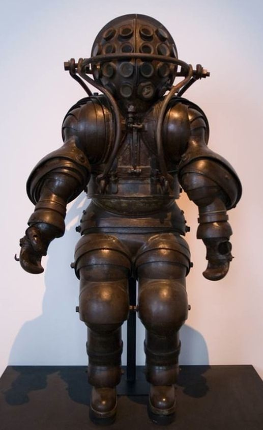 diving suit from the past