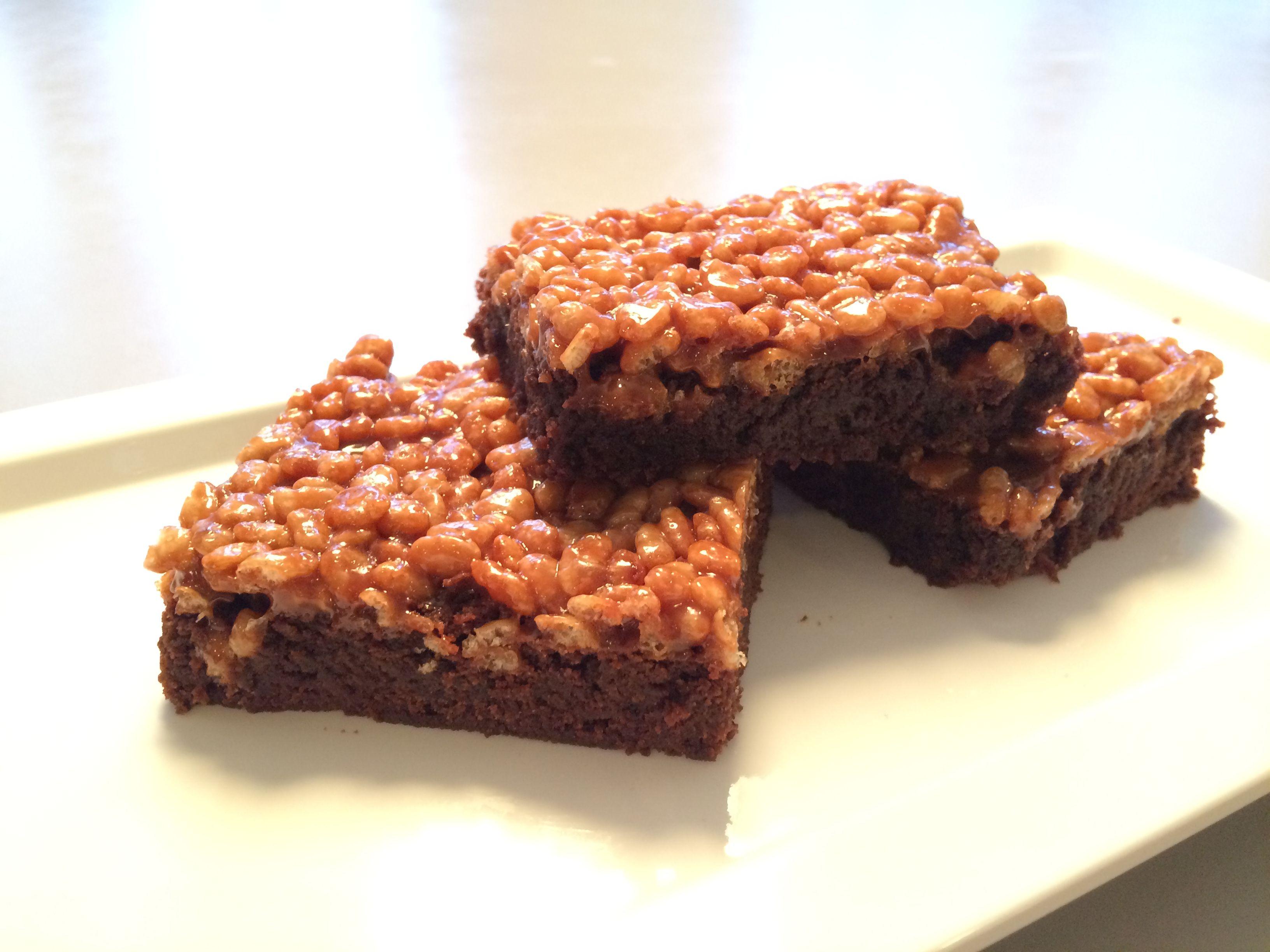 Pif paf puf kage | Skúffukökur / Brownies  | Cake, Desserts