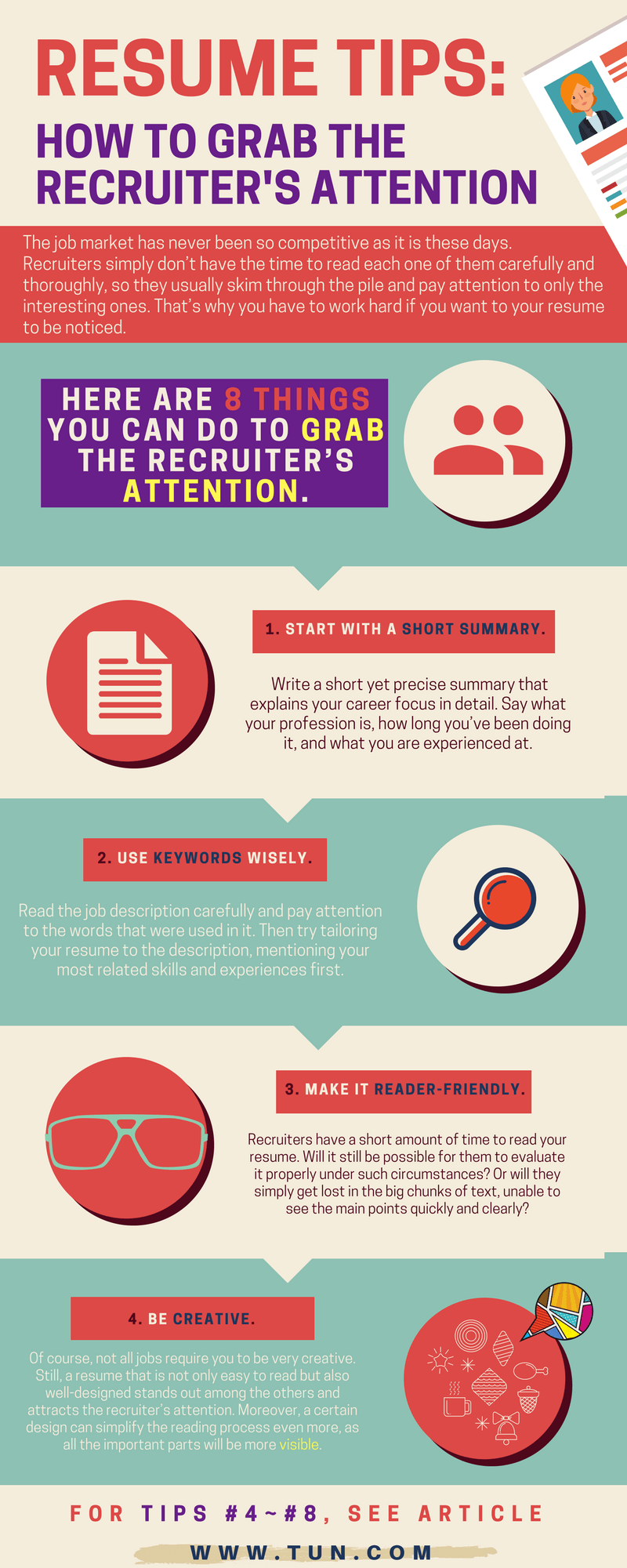 8 things you can do to grab the recruiter\'s attention - get your ...