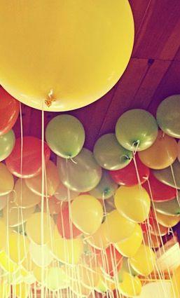 big, fat, yellow balloon