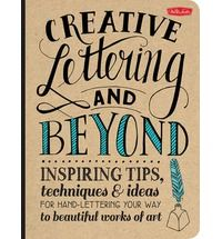 """""""Creative Lettering and Beyond"""" combines the artistic talents and inspirational tips and tutorials of several professional hand letterers and calligraphers for a dynamic and interactive learning experience. After a brief introduction to the various tools and materials, artists and lettering enthusiasts will learn how to master the art of hand lettering and typography through engaging, easy-to-follow step-by-step projects, prompts, and exercises. From the basic shape and"""