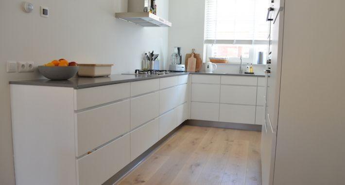 Kvik mano keuke werkblad beach medium grey 4 5 x 2 8 afmeting keuken pinterest inspiration - Witte quartz werkblad ...