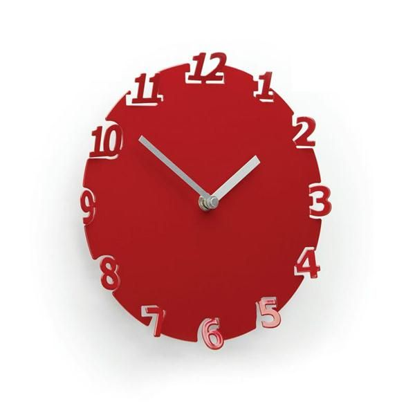 Numero Wall Clock from Umbra @Umbra Time Pinterest Wall clocks - time clock spreadsheet