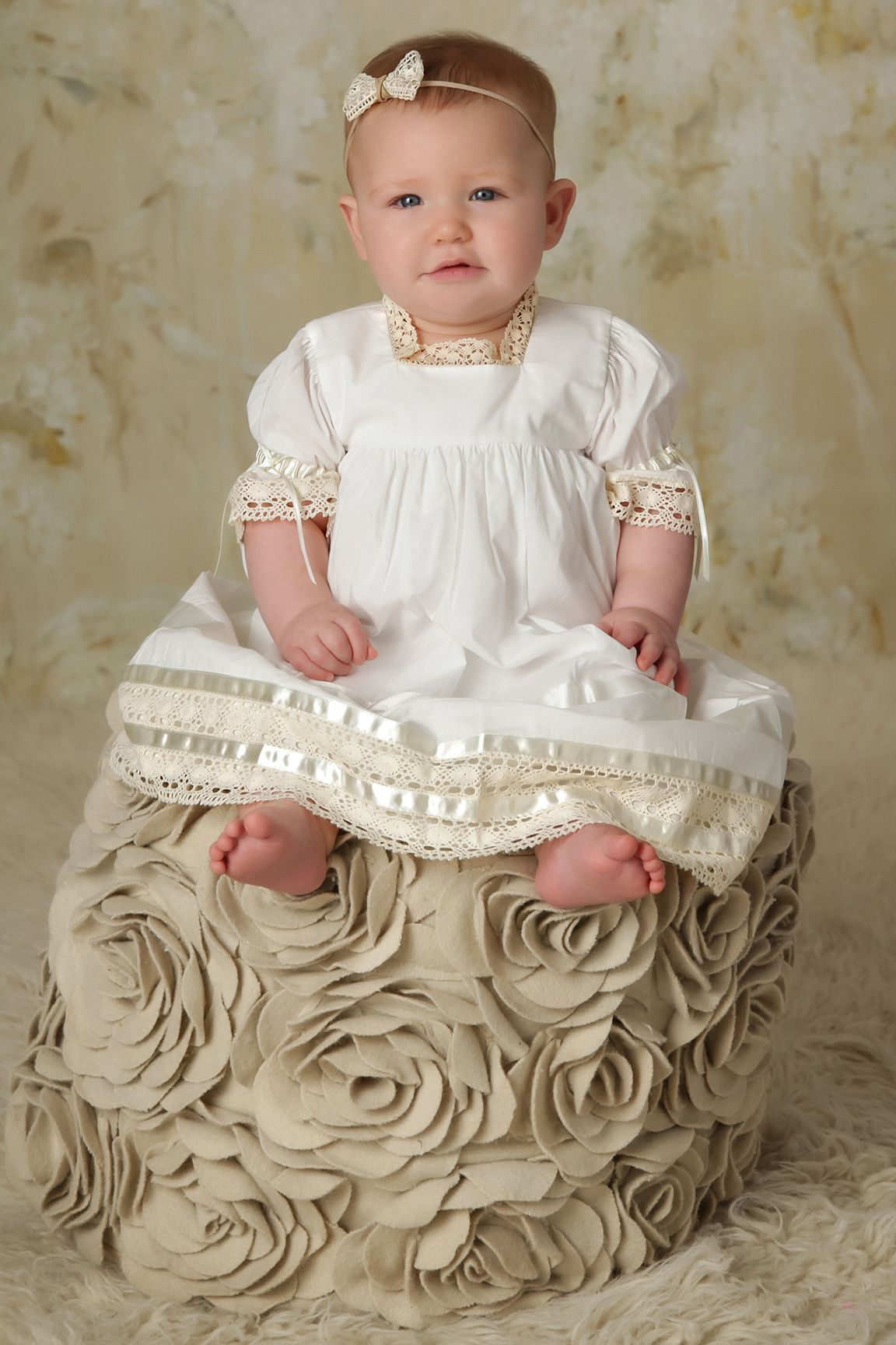 Virginia Lace Flower Girl Dress