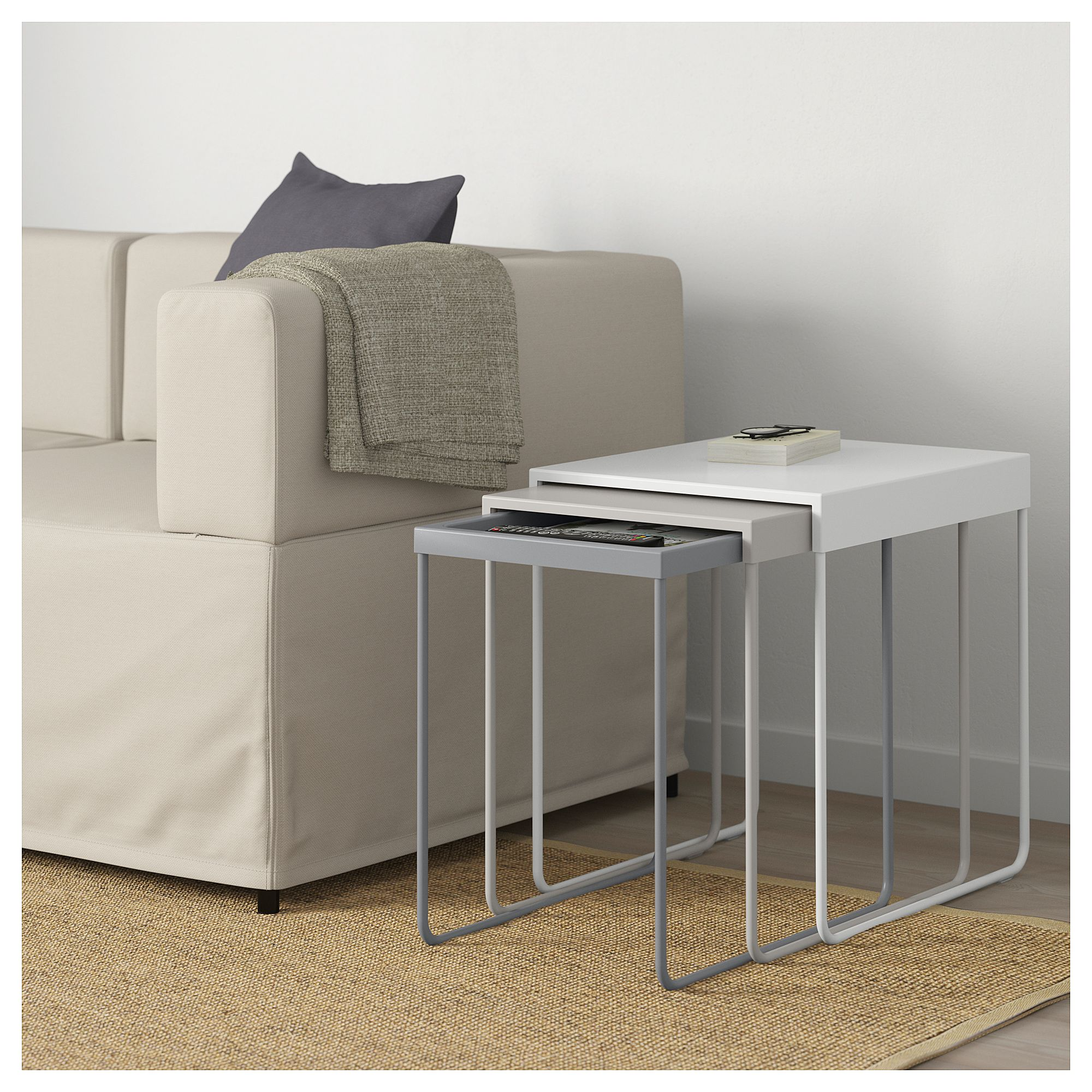 Granboda Nesting Tables Set Of 3 Tables Gigognes Table Gigogne Ikea Table De Salon Design