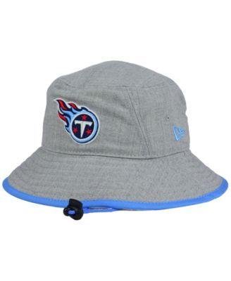 3fef69ea9e1 New Era Tennessee Titans Nfl Heather Gray Bucket Hat