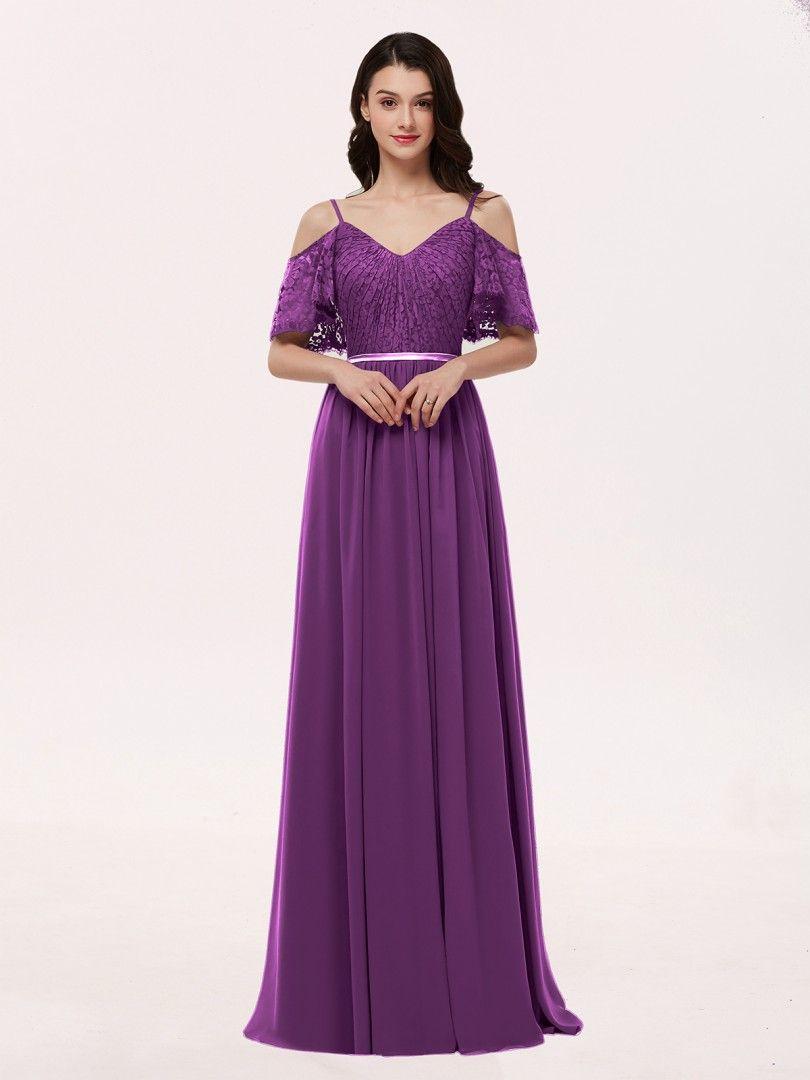9ff61509aa0 Dusk Miranda Spaghetti Strap Lace and Chiffon Dress