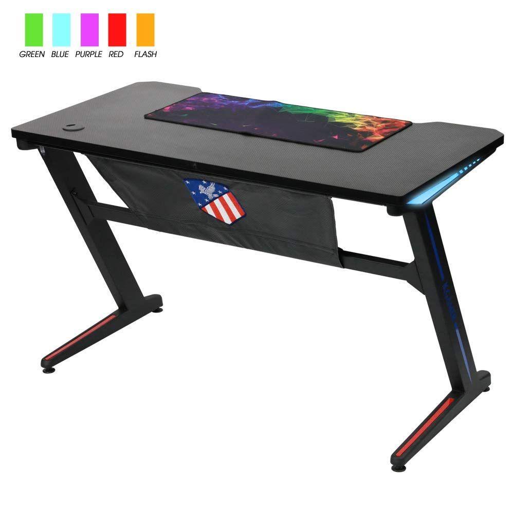 Kinsal Gaming Desk Desk Gaming Computer Desk Gaming Desk