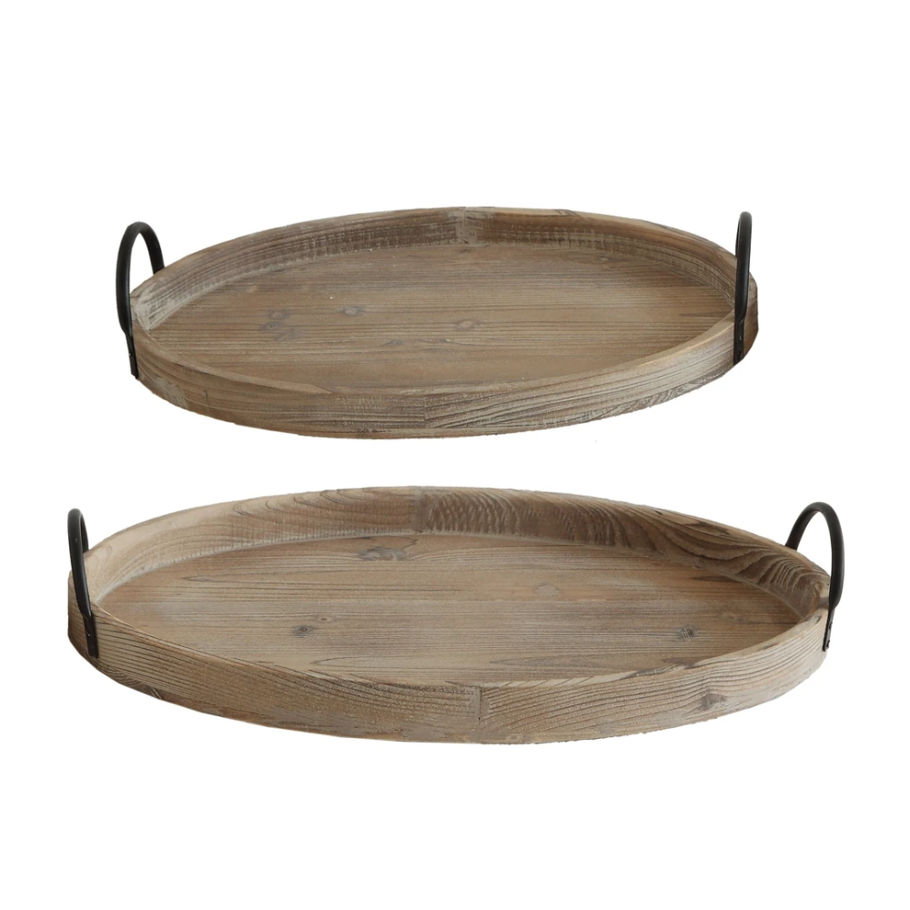 This Set Of Decorative Wood Trays Will Make Any Setting Extra Special Stack Them Set Them Side By Side Or Place In Differe Wood Tray Wood Tray Set Wood Decor [ 1000 x 1000 Pixel ]