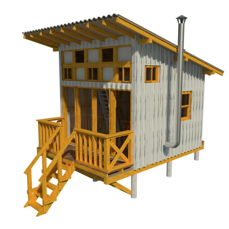 Elevated Cabin Plans Virginia Small Cabin Plans Tiny