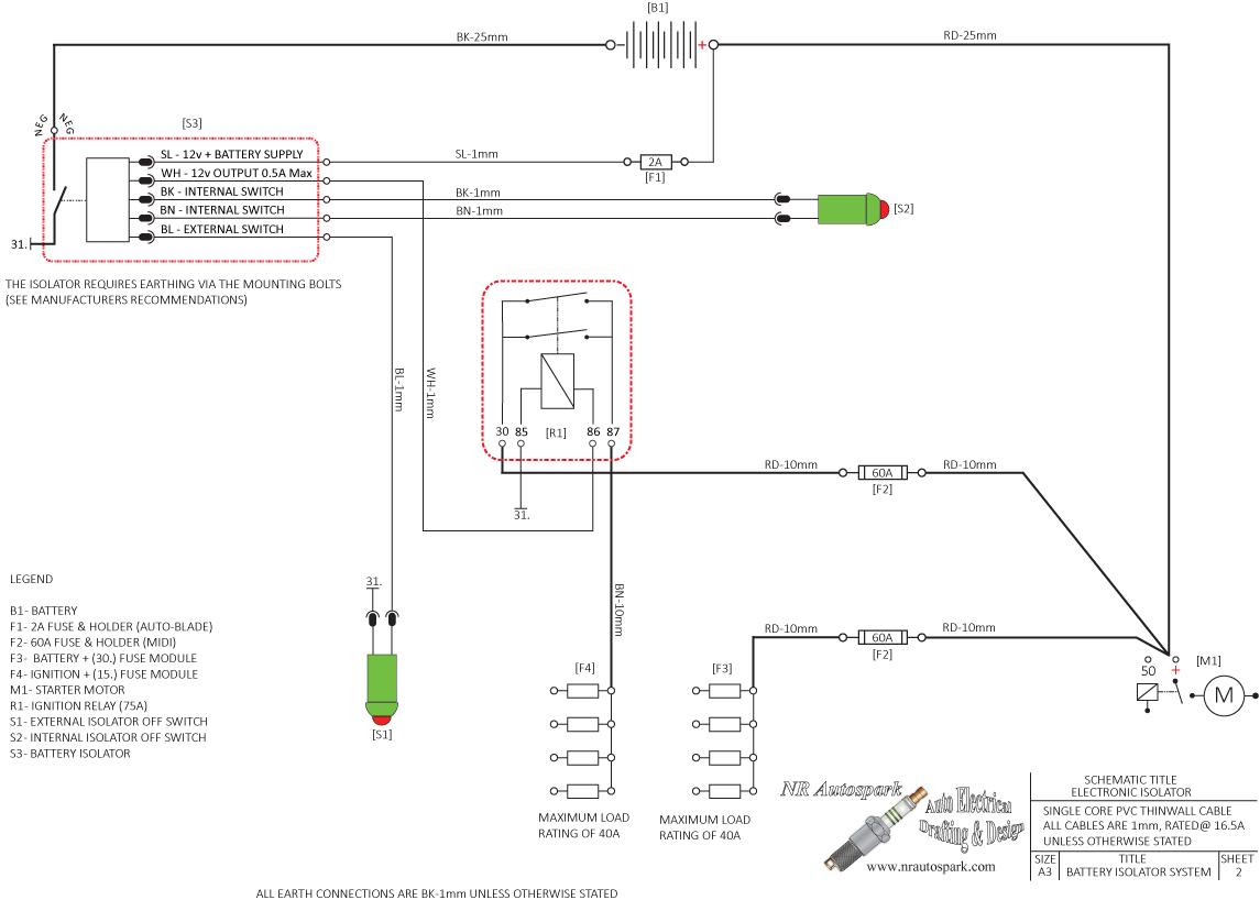 cartek xr battery isolator schematic battery isolation pinterest rh pinterest ca dual battery isolator schematic battery isolator wiring schematic