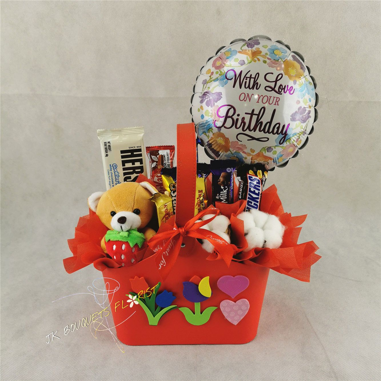 Gift Box 19 Flower toy, Balloon gift, Birthday balloons