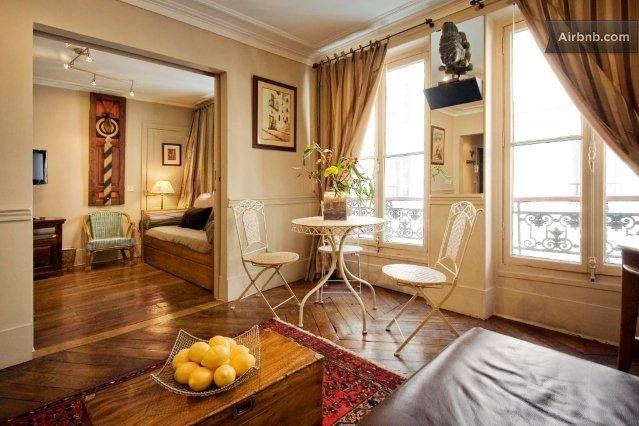 Apartment on Ile St Louis in Paris - similar to the one we rented.