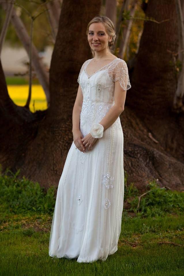 novia real bordado a mano