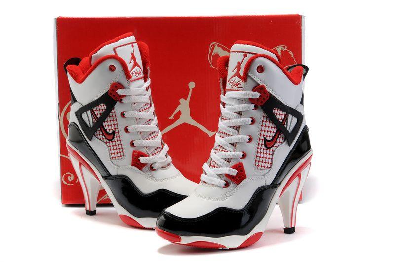 Jordan high heels, High heel sneakers