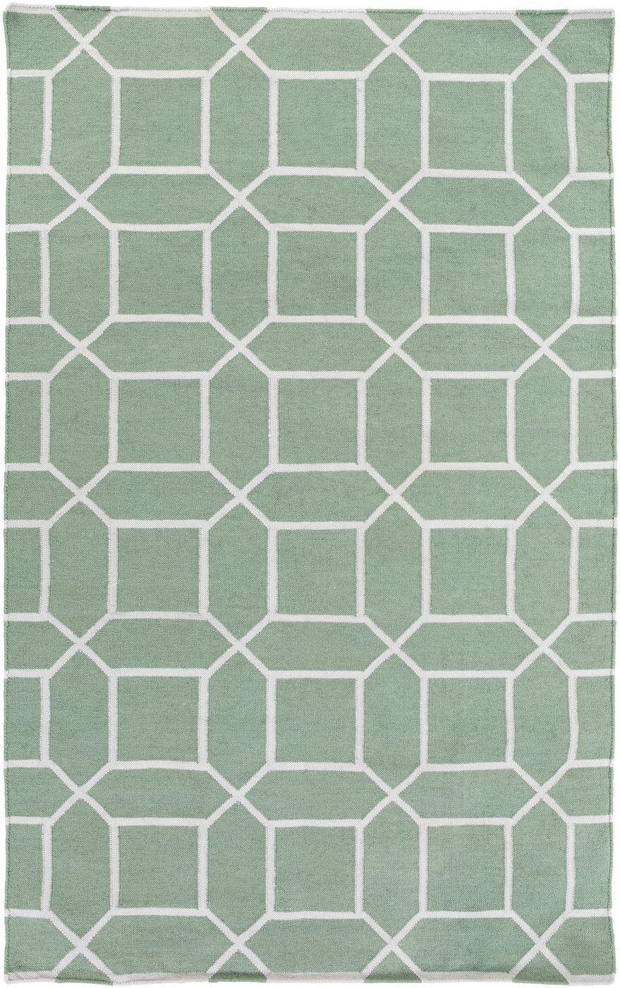 Lagoon area rug green products