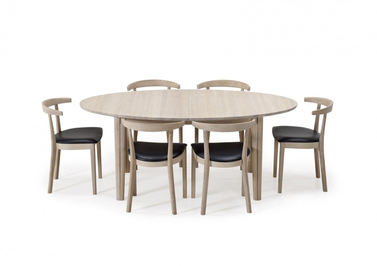 Patent pending Skovby #78 dining table in a unique design. From six ...