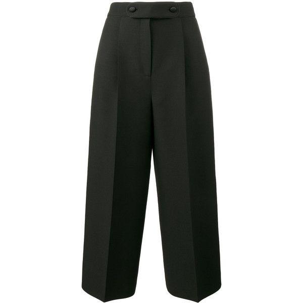 high-waisted trousers - Black Valentino PXwcBQ6pK1