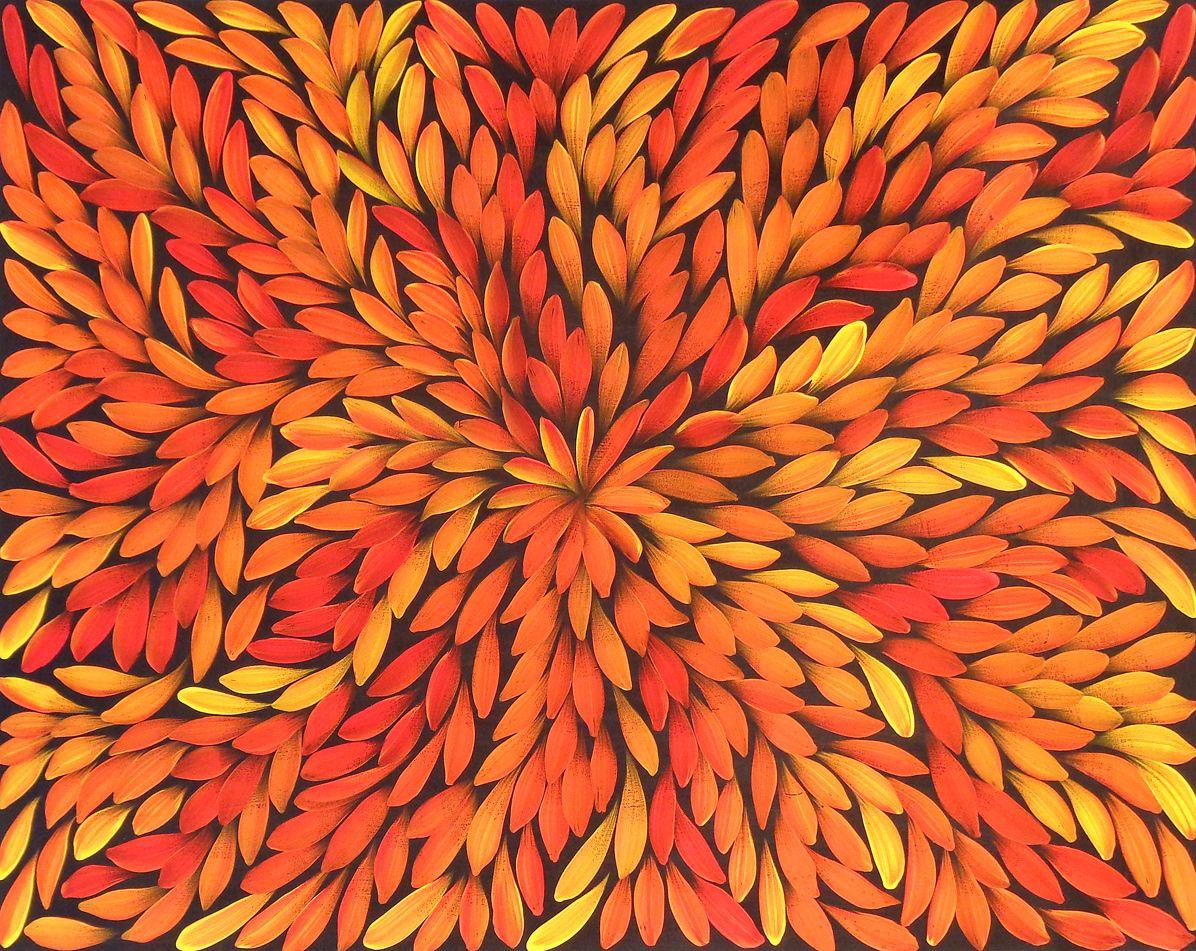 Louise Numina 'Bush Medicine Leaves' Aboriginal
