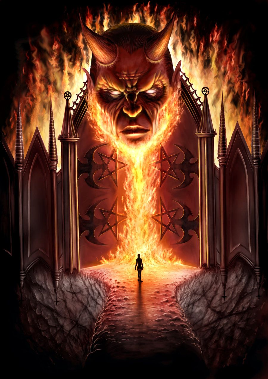 gates of hell art