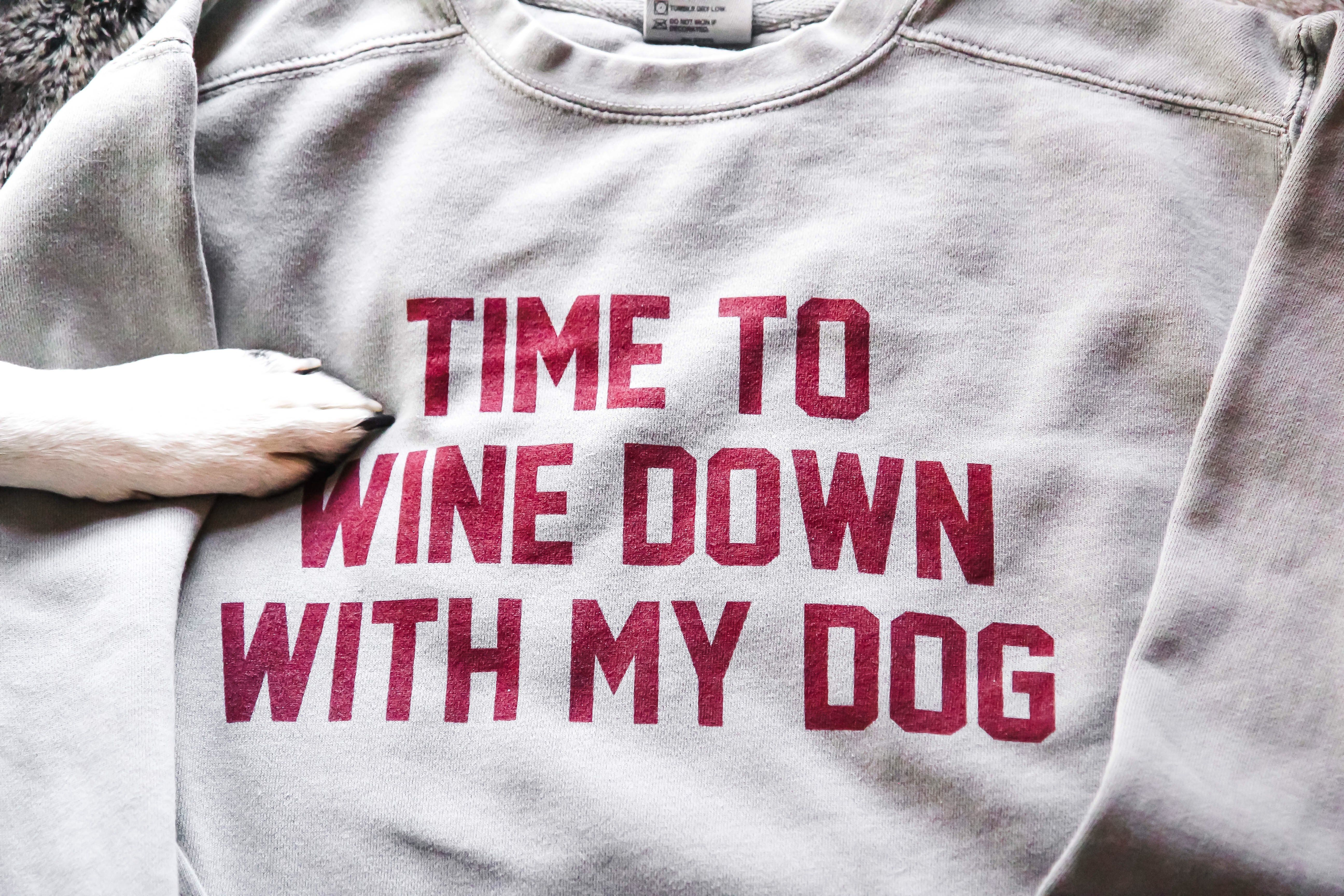 Friends And Wine The Older The Better Womens Comfort Colors Shirt