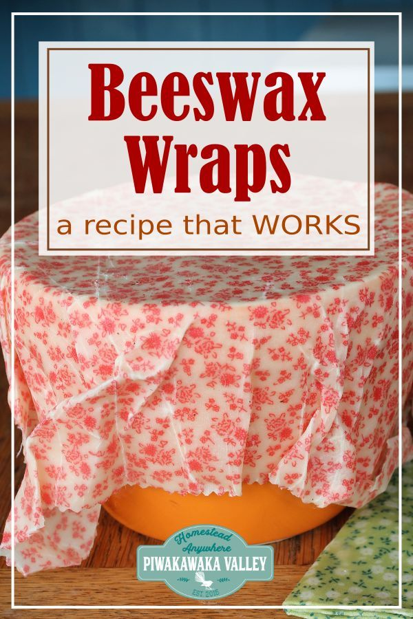 How to Make Beeswax Wraps That Work! DIY Plastic Free Alternative #jojobaoil