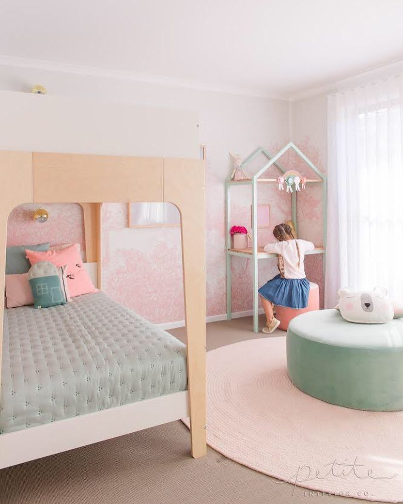 Youth Bedroom Ideas And Trends You Must Try: Try This Unusual Colour Combo For Your Kid's Room