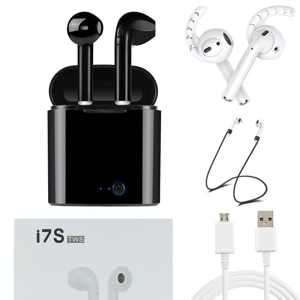 Luli Wireless Bluetooth Headphones Headset For Apple Iphone Xiaomi Xiomi Sony Huawei Samsung Galaxy S7 S8 S9 Head Phone Wireless Earphones Earbuds In Ear Buds