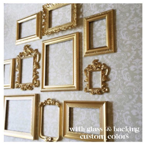 Gold Picture Frames Wall Gallery Collection Of Exact 10 Gold Frame Gallery Wall Gallery Wall Frames Frame Wall Collage