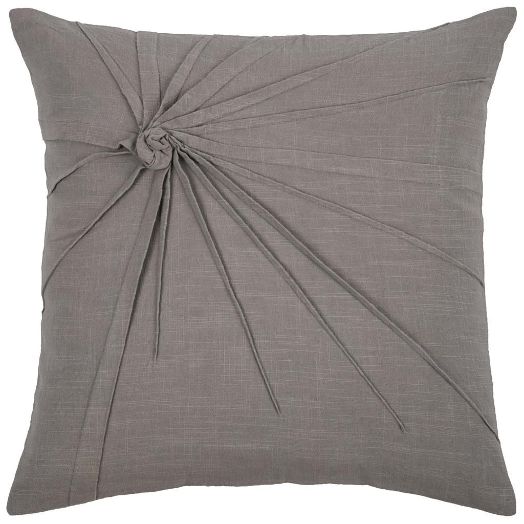 Solid Twisted Know Gray Pillow Cover Grey Pillow Covers Pillows Cotton Throw Pillow