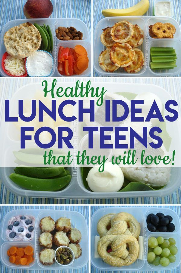 Healthy Lunch Ideas for Teens images