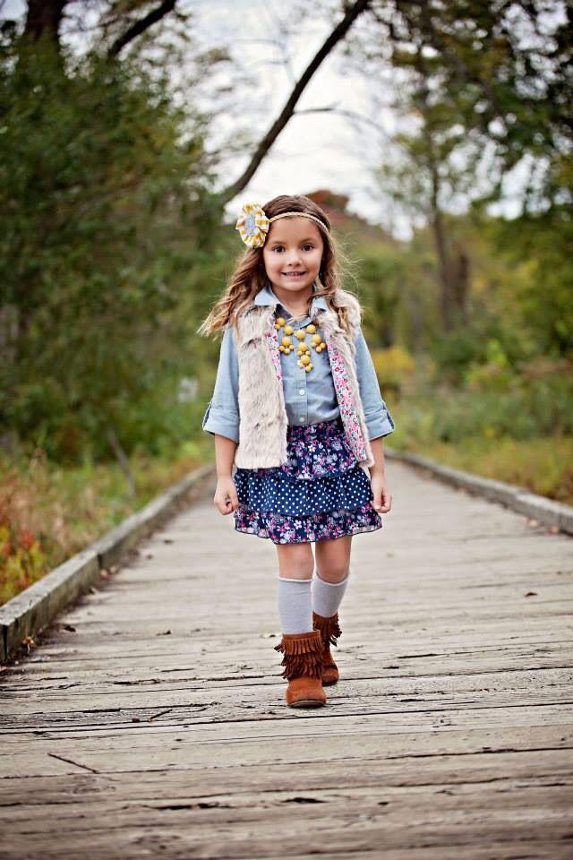 16ab669693ecd Children's fashion | little girl's clothes | 4 year old fashionista ...
