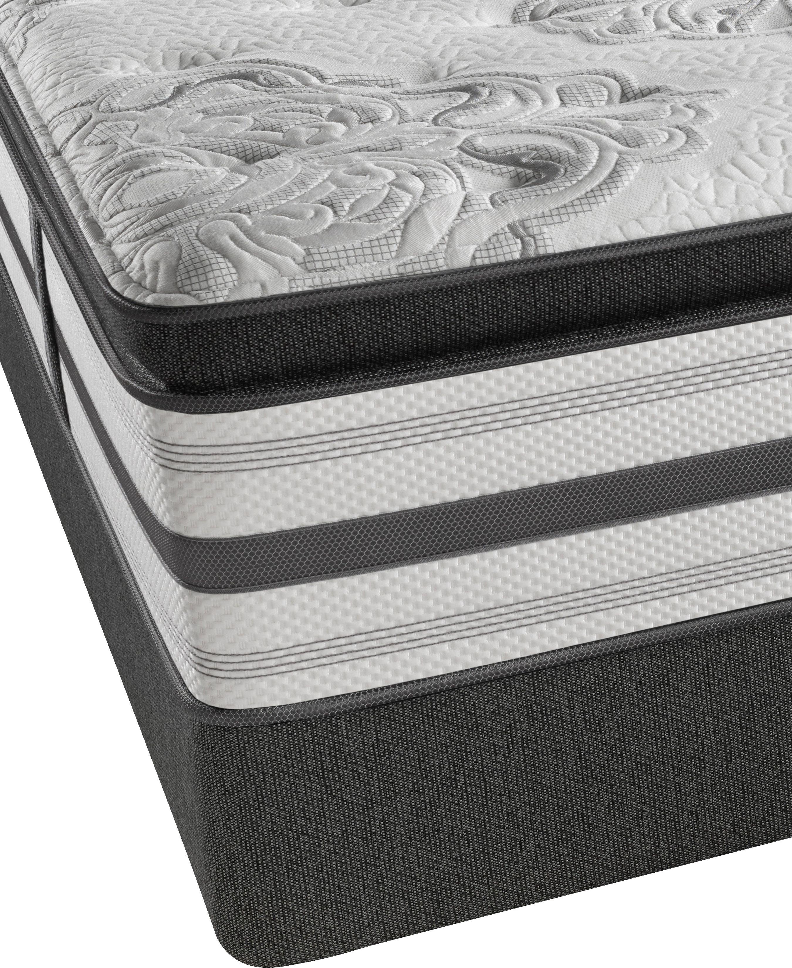 simmons beautyrest platinum stone mountain plush pillow top cal king