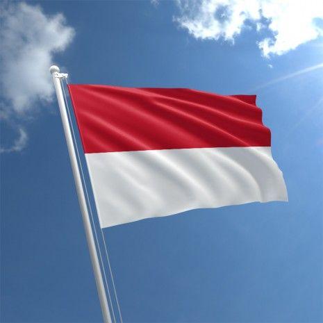 Monaco Singapore Flag Honduras Flag Indonesian Flag
