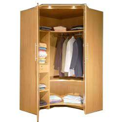 Corner Wardrobe Google Search Skrina Pinterest Corner Wardrobe And Small Guest Rooms