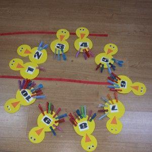 Numbers Craft Idea For Preschooler 3 Numbers Craft Idea For Kids