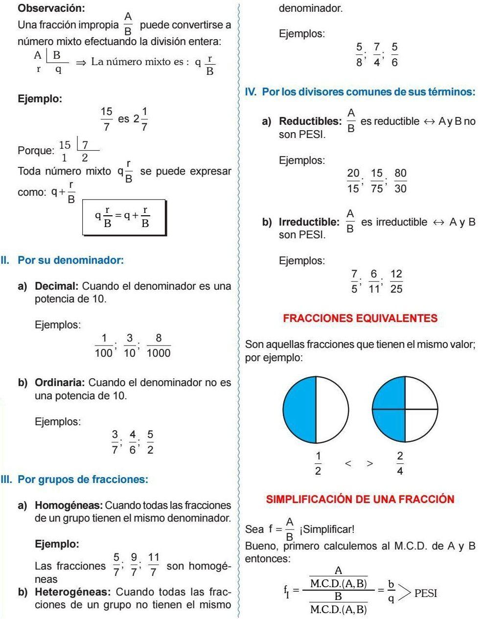 Fracciones Equivalentes Simplificacion De Una Fraccion Math Getting A Kitten How To Get