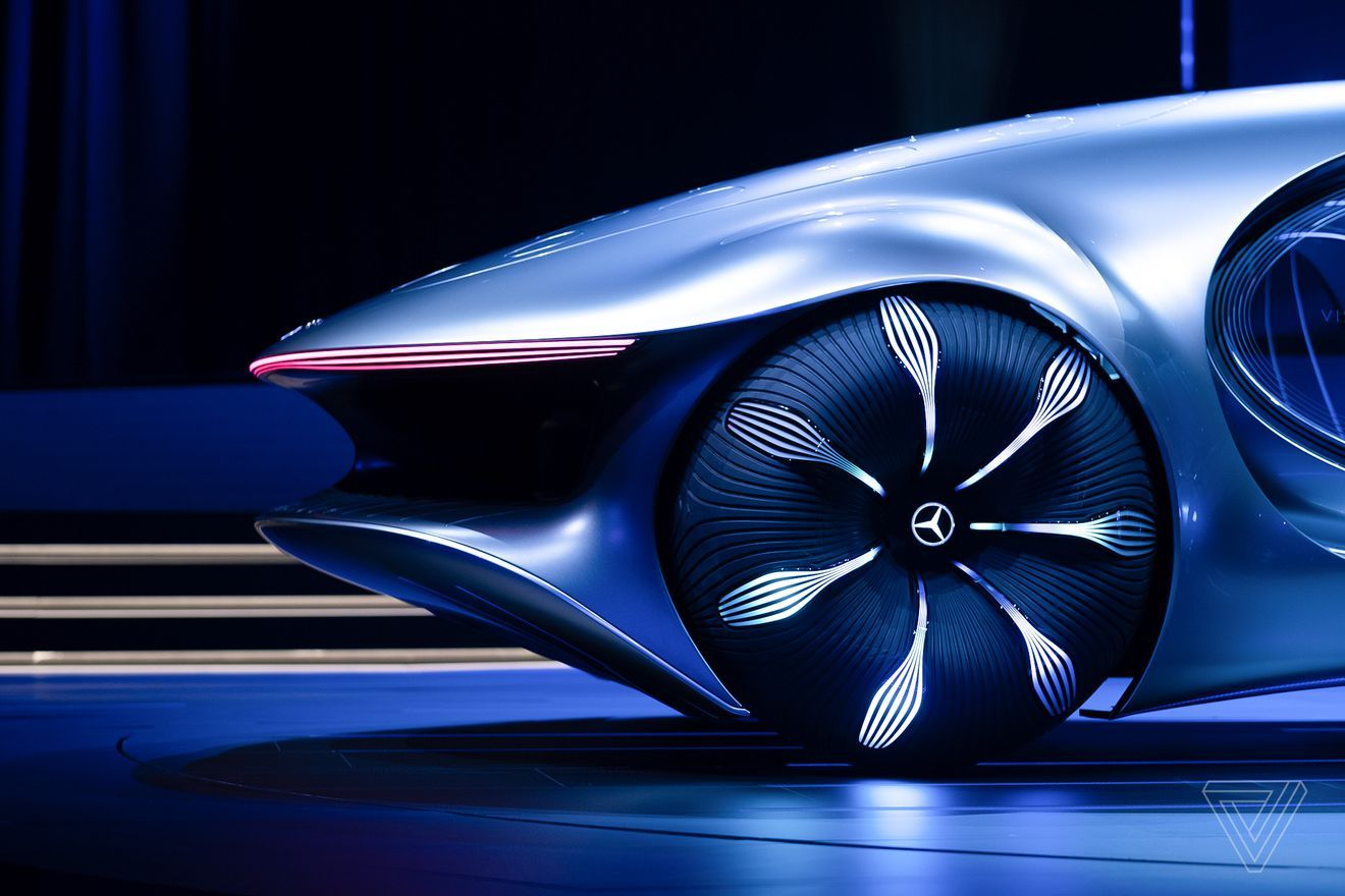 Mercedes Benz Unveils An Avatar Themed Concept Car With Scales In 2020 Concept Cars Concept Car Interior Concept Cars Vintage