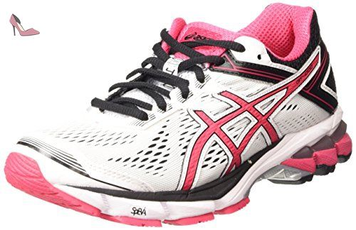 ASICS Gt-1000 4, Chaussures de Running Compétition femme - Blanc (white/