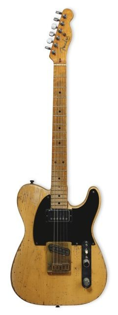 1953 Fender Telecaster Keith Richards Micawber Telecaster Guitar Guitar Fender Guitars