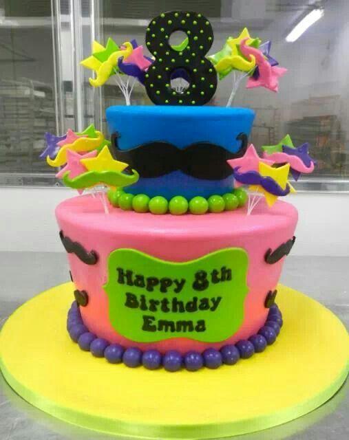 Carlos Bakery Fondant Friday 8th birthday cake from their