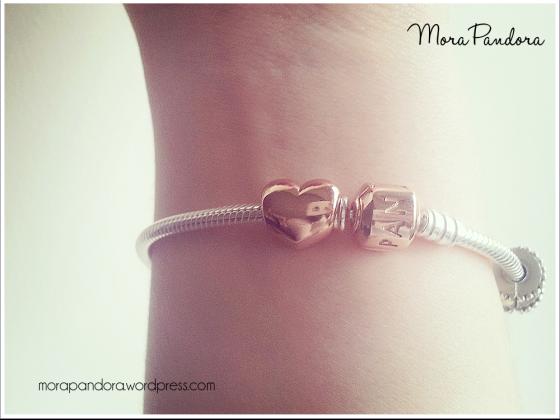 Pandora gold Rose bracelet!