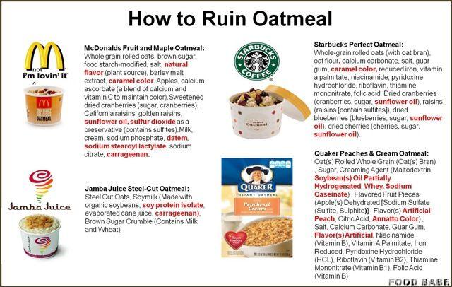 How to Ruin Oatmeal & Country Choice Organic Oatmeal Giveaway