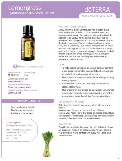 Doterra Lemongrass Essential Oil Uses Best Essential Oils Lemongrass Essential Oil Uses Lemongrass Essential Oil Essential Oils