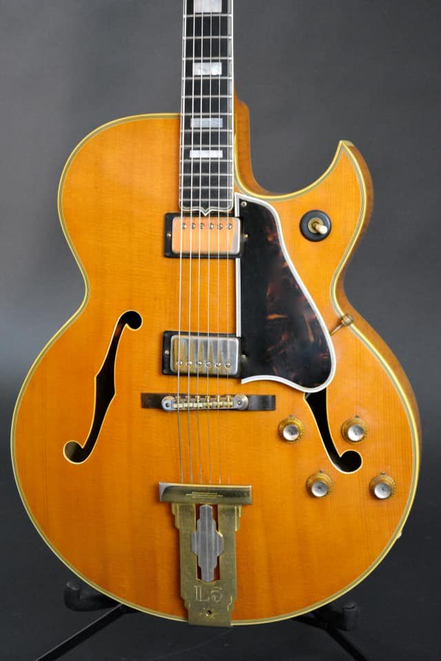 Gibson L 5ces 1961 1968 With Images Guitar Vintage Guitars