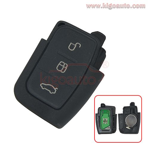 Remote Key Fob 3button 434mhz For Ford With Images Key Fob
