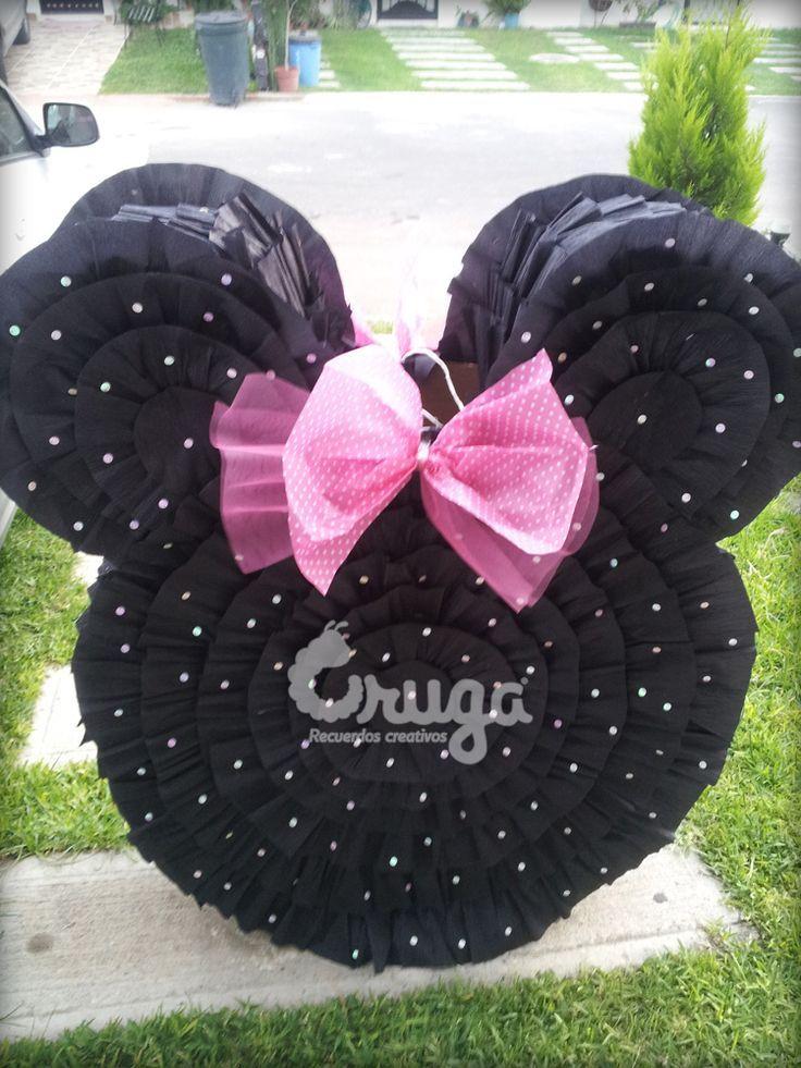 Piñatas~Minnie Mouse Piñata | Mimi | Pinterest | Piñatas, Fiestas y ...