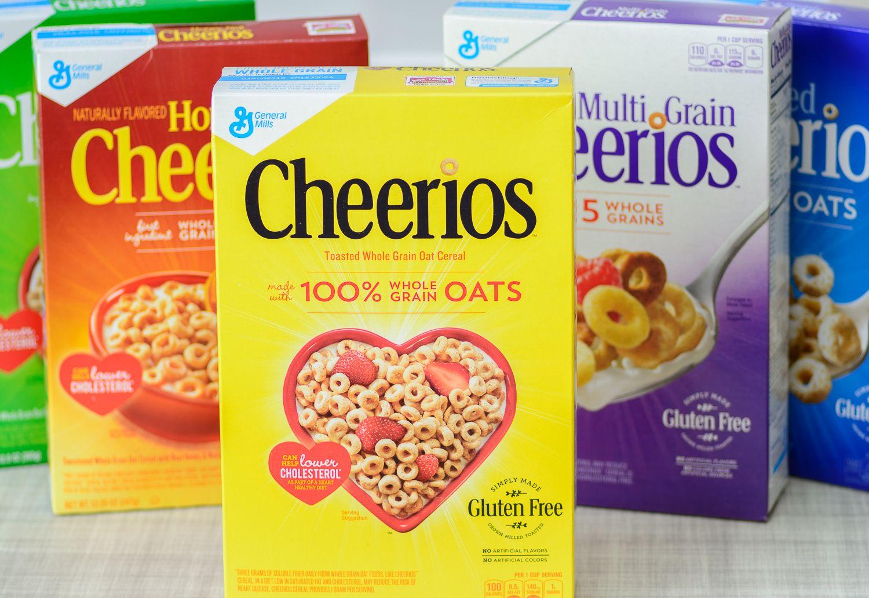 Honey Nut Cheerios Cereal Bars with GlutenFree Cheerios