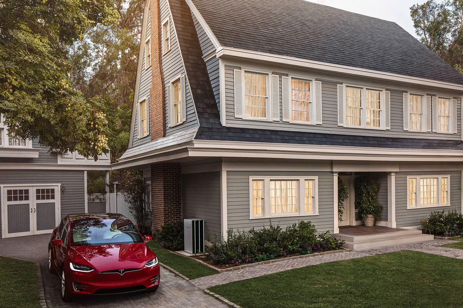 Tesla S Solar Roof Is Available For Pre Order Solar Roof Tesla Solar Roof Solar Roof Tiles