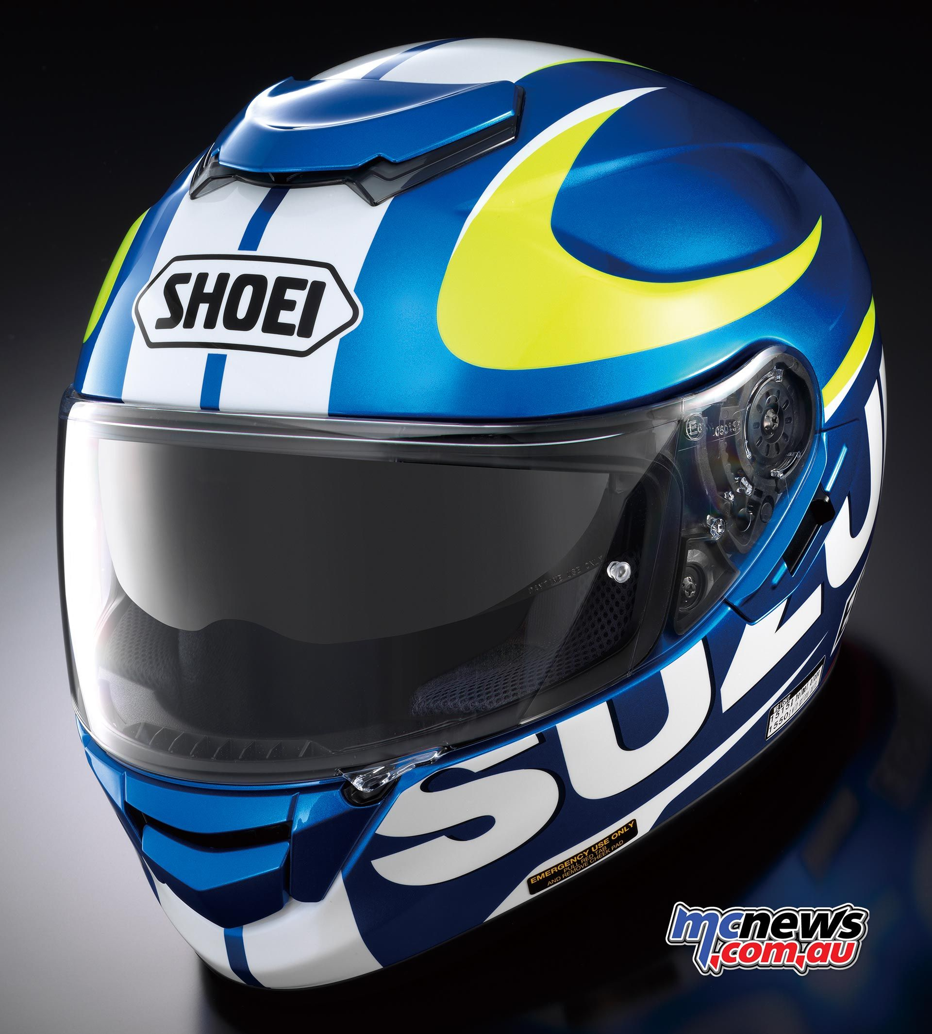 Available exclusively through Suzuki dealers, Shoei GTAir